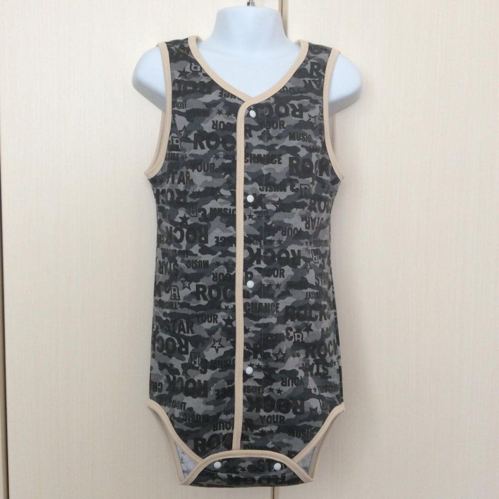 Romper - Camouflage Pattern - Open Front Typeの画像