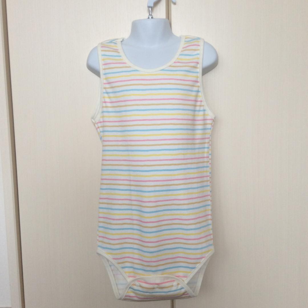 Long Underwear - Pastel Stripes Pattern画像