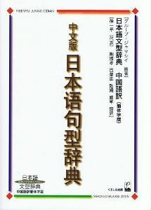 日本語文型辞典中国語訳簡体字版画像