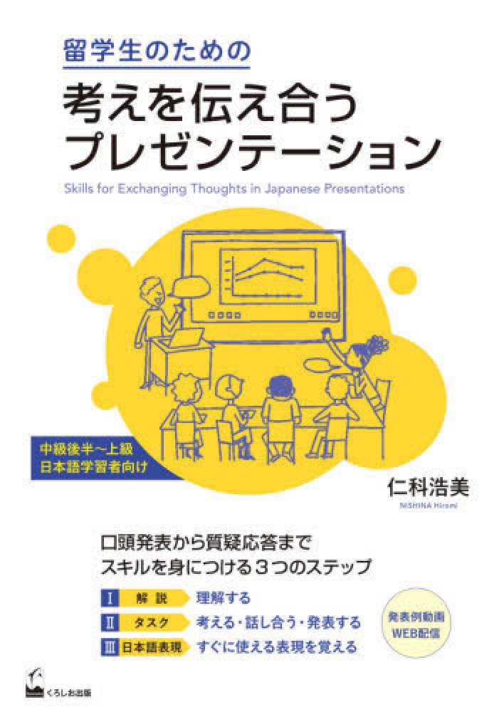 留学生のための考えを伝え合うプレゼンテーション画像