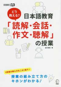 どう教える?日本語教育「読解・会話・作文・聴解」の授業画像