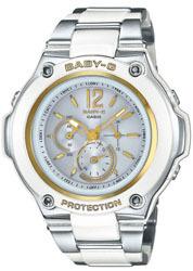 ベビーG Baby-G  ソーラー電波 レディース腕時計 BGA-1400CA-7B3JFの画像