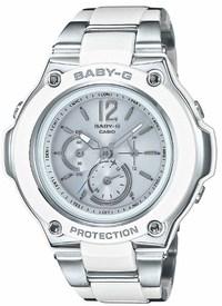 ベビーG Baby-G  ソーラー電波 レディース腕時計 BGA-1400CA-7B1JF の画像