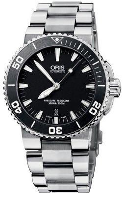 ORIS  オリス  ダイビング  アクイス デイト  73376534154M の画像