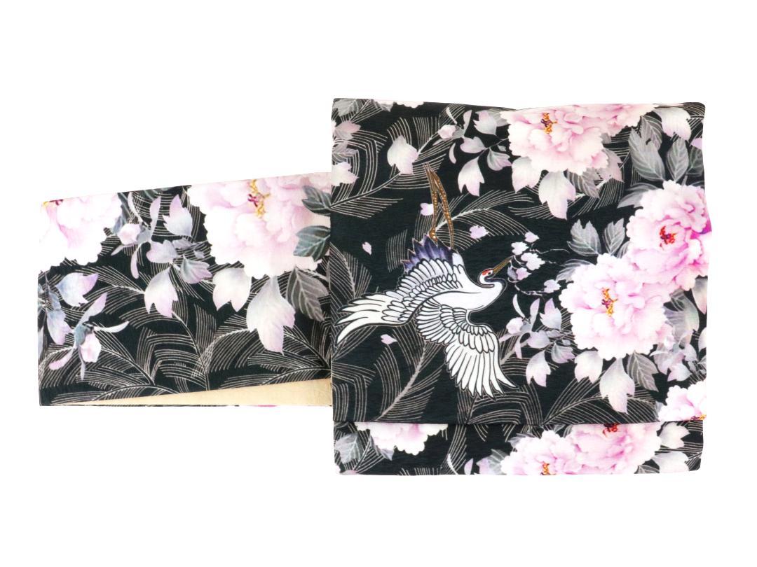 【日本製】オリジナルデザイン京袋お太鼓帯 造り帯 S/M/Lサイズ[No4 華やぐ]画像