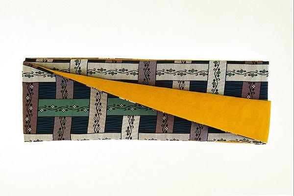数量限定!正絹おしゃれリボン帯 色彩[6] 日本製【送料無料】の画像