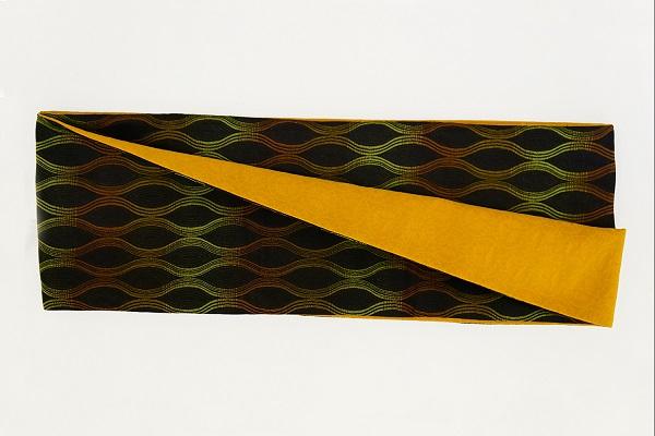 数量限定!正絹おしゃれリボン帯 色彩[7] 日本製【送料無料】の画像