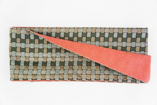 数量限定!正絹おしゃれリボン帯 色彩[9] 日本製【送料無料】の画像