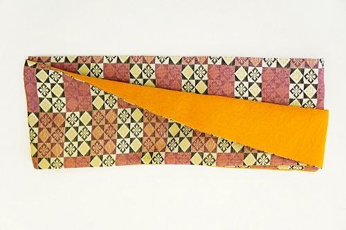 数量限定!正絹おしゃれリボン帯 色彩[14] 日本製【送料無料】の画像