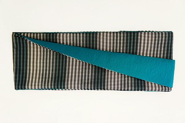 数量限定!正絹おしゃれリボン帯 色彩[25] 日本製【送料無料】の画像