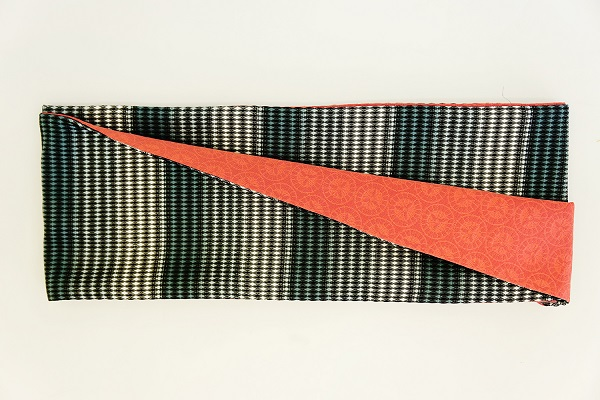 数量限定!正絹おしゃれリボン帯 色彩[26] 日本製【送料無料】の画像