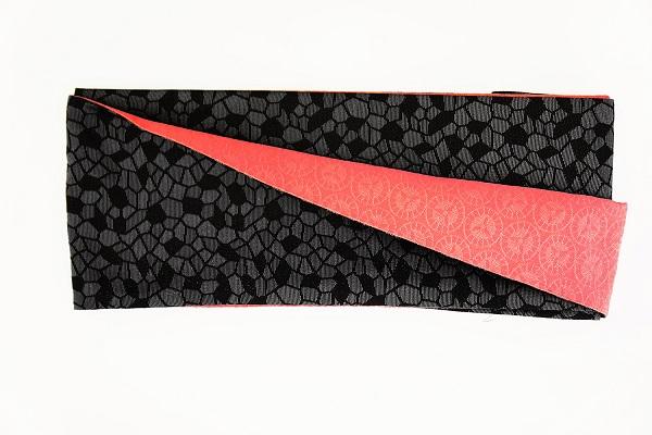 数量限定!正絹おしゃれリボン帯 色彩[31] 日本製【送料無料】の画像