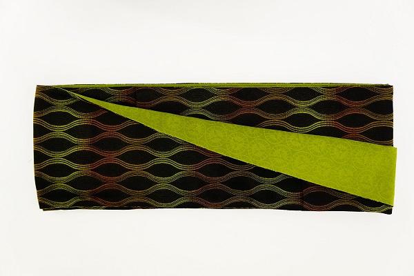 数量限定!正絹おしゃれリボン帯 色彩[32] 日本製【送料無料】の画像