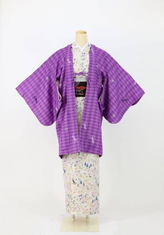琴音羽織〜ことねはおり〜 菊紋 紫の画像