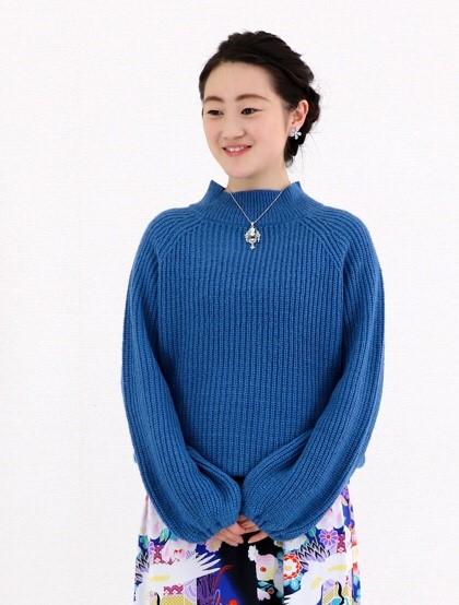 仕立屋甚五郎オリジナル ニットセーターの画像