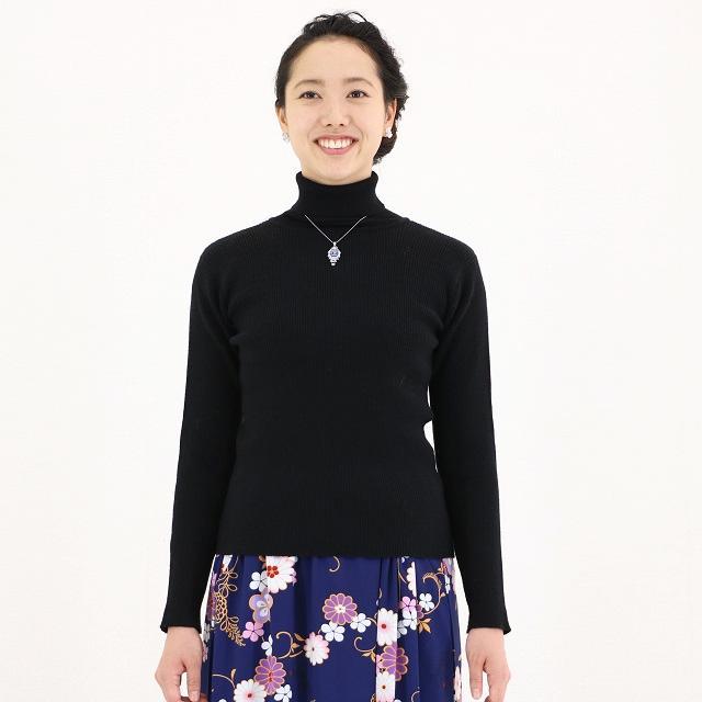仕立屋甚五郎甚五郎オリジナル タートルネックセーター画像