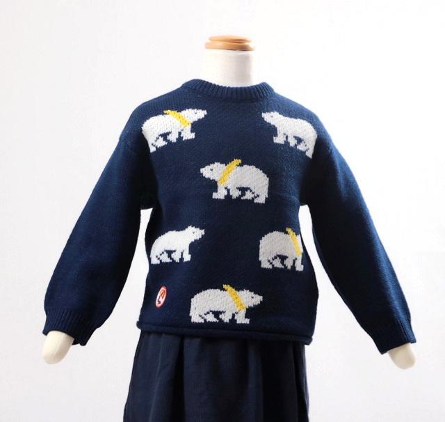 仕立屋甚五郎オリジナル 子供用ニットセーター画像
