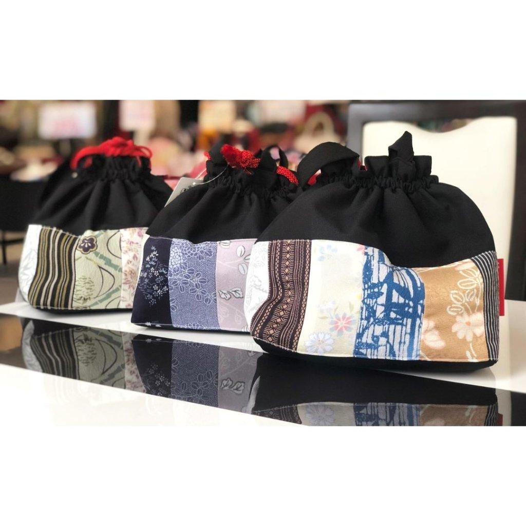【日本製】3way巾着バッグ 01の画像