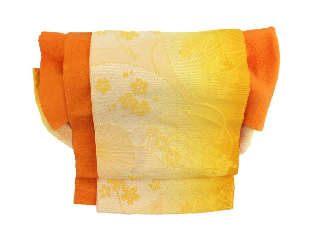 かわいい 簡単装着帯 オレンジ画像