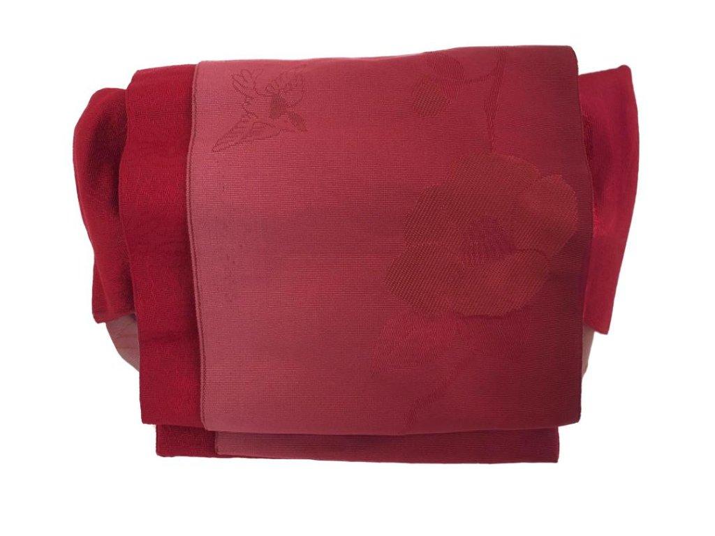 かわいい 簡単装着帯 赤の画像