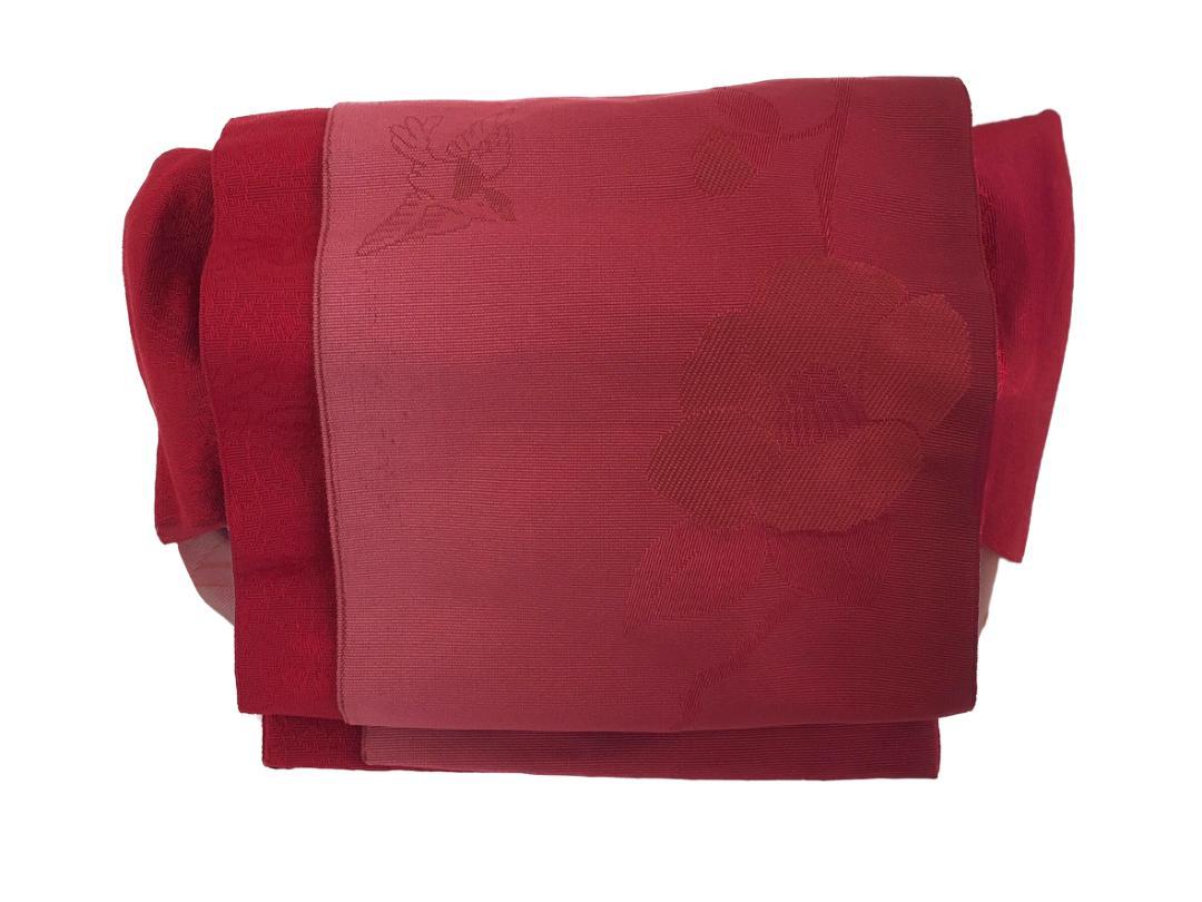 かわいい 簡単装着帯 赤画像