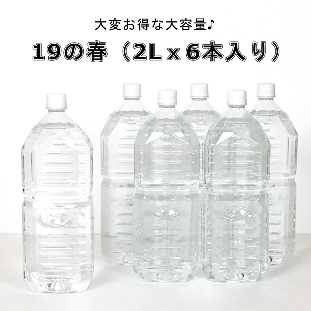 19の春(スーパーつるりんでポン!)(2Lx6本入り)画像