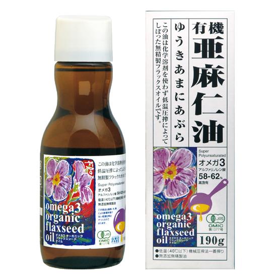 有機亜麻仁油の画像