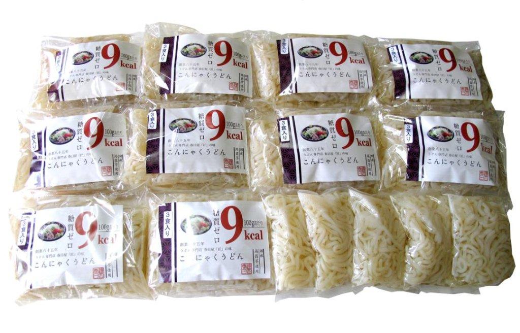 糖質ゼロ ダイエットこんにゃくうどん 150g×35食こんにゃく麺 の画像