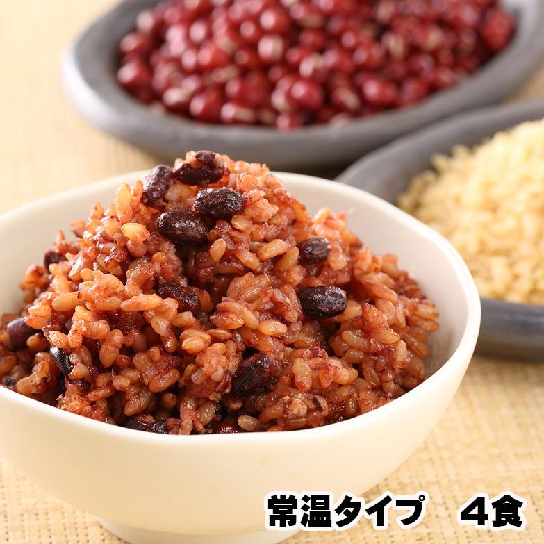 常温 お試し 残留農薬ゼロ モチモチの3日寝かせ発芽酵素玄米ごはん 4食の画像