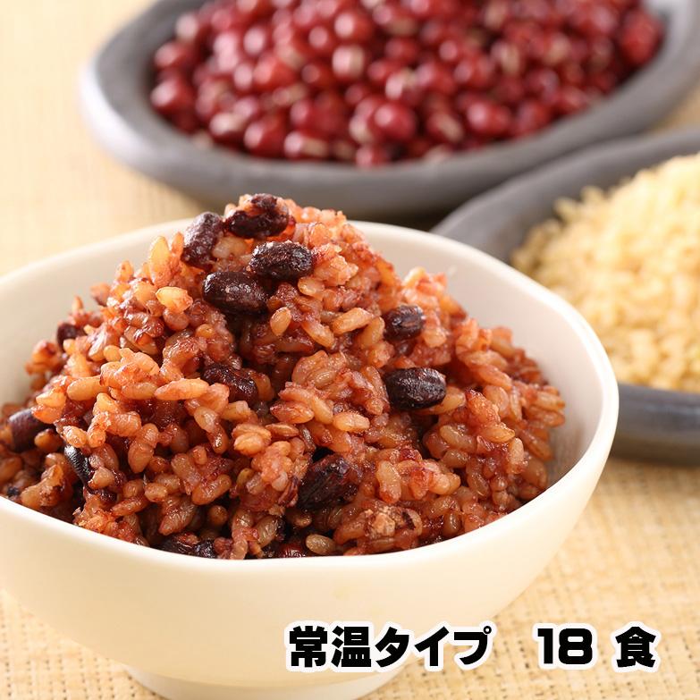 常温 残留農薬ゼロ モチモチの3日寝かせ発芽酵素玄米ごはん 18食画像