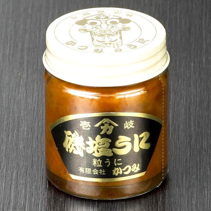 磯塩うに 40g ミニビン詰  人気のミニビンサイズ・低温熟成 磯の香り 塩うに  壱岐 かつみのうに画像