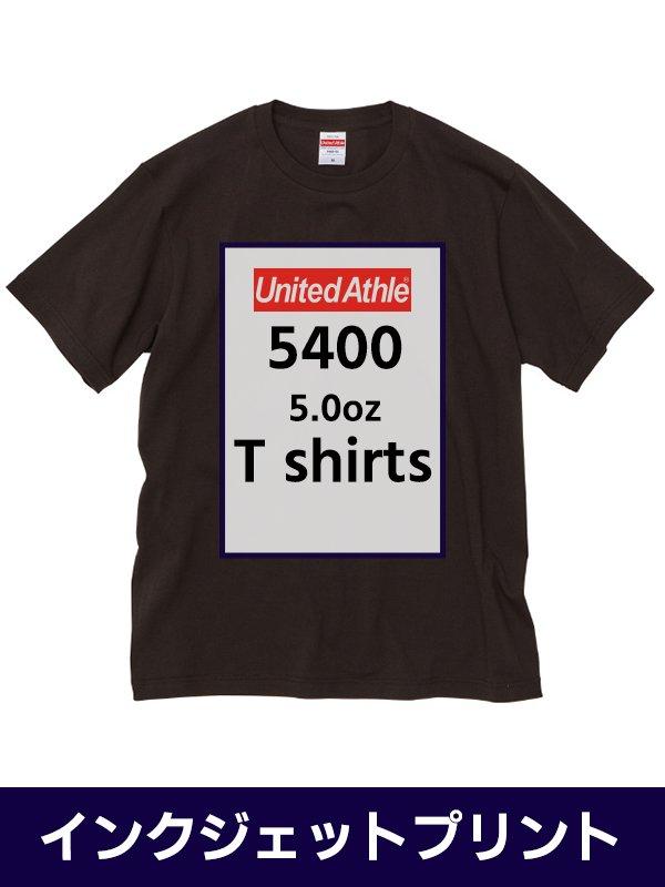 UniteAthle5400/ 5.0ozTシャツ画像