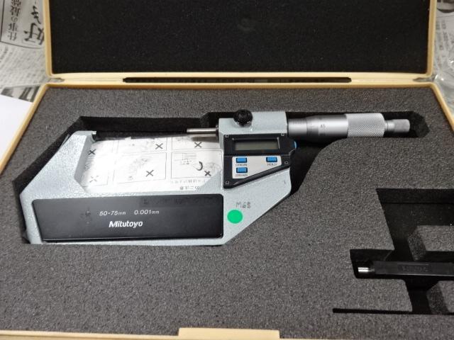 デジタル外側マイクロメータの画像