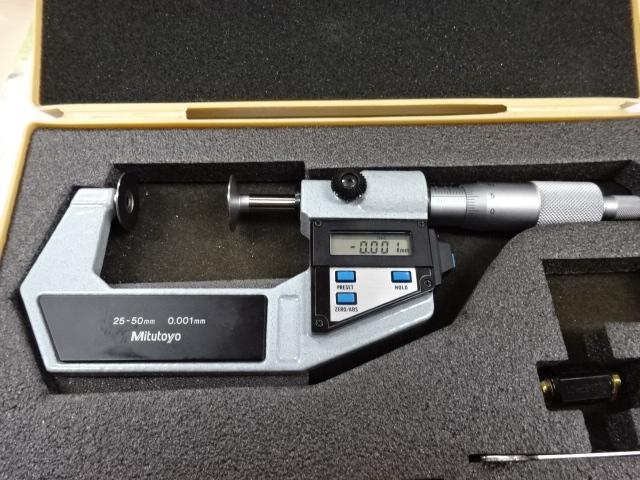 デジタル歯厚マイクロメータの画像