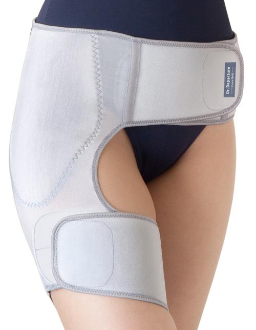お医者さんの股関節ベルトの画像