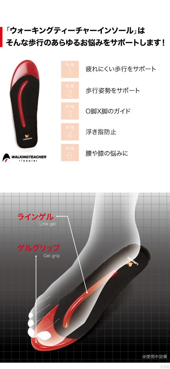 「ウォーキングティーチャーインソール」はそんな歩行のあらゆるお悩みをサポートします!特徴1.疲れにくい歩行をサポート 特徴2.歩行姿勢をサポート 特徴3.O脚X脚のガイド 特徴4.浮き指防止 特徴5.腰や膝の悩みに