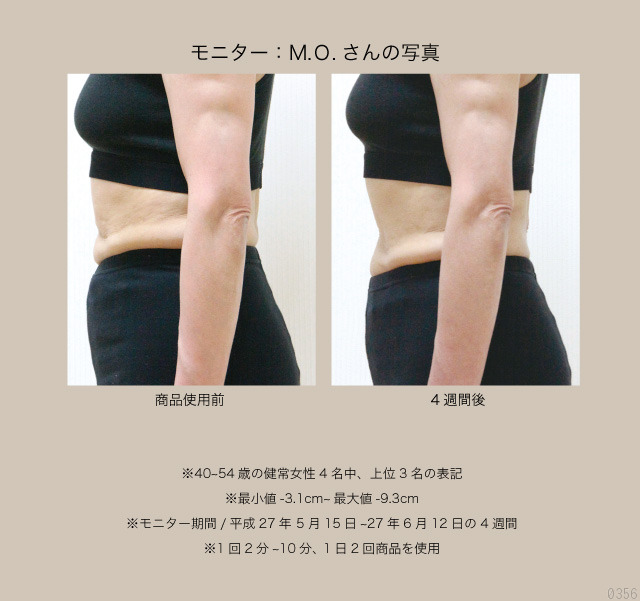 モニターM.0さん、マイナス8.0cm