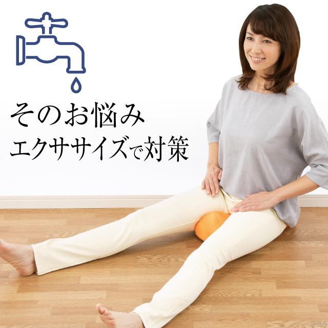 気になるお悩みエクササイズで対策「骨盤底筋エクササイズ キュットクッション
