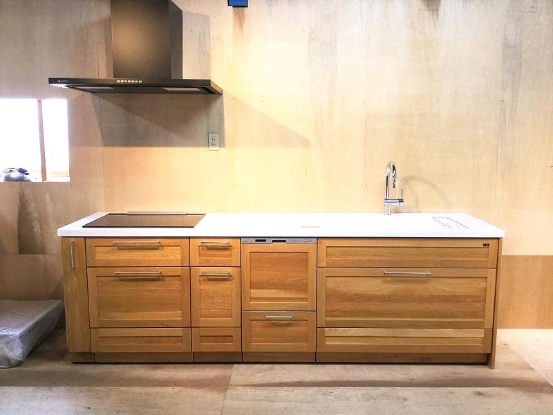 ウッドワンシステムキッチン スイージーOK50の画像
