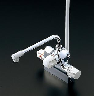 TOTO浴室用混合シャワー水栓 デッキタイプ TMJ48Eの画像