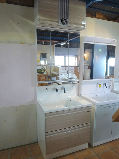 タカラスタンダード洗面化粧台 ドレシオW750画像