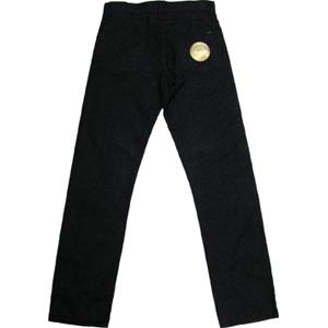 鬼デニムレギュラー ストレート カラー パンツ 杢グレーの画像