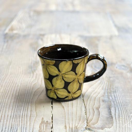 スリップウェア マグカップ(小)画像