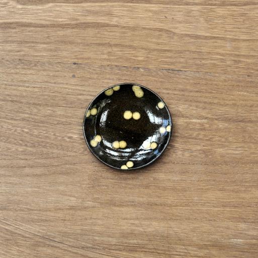 スリップウェア 豆皿画像