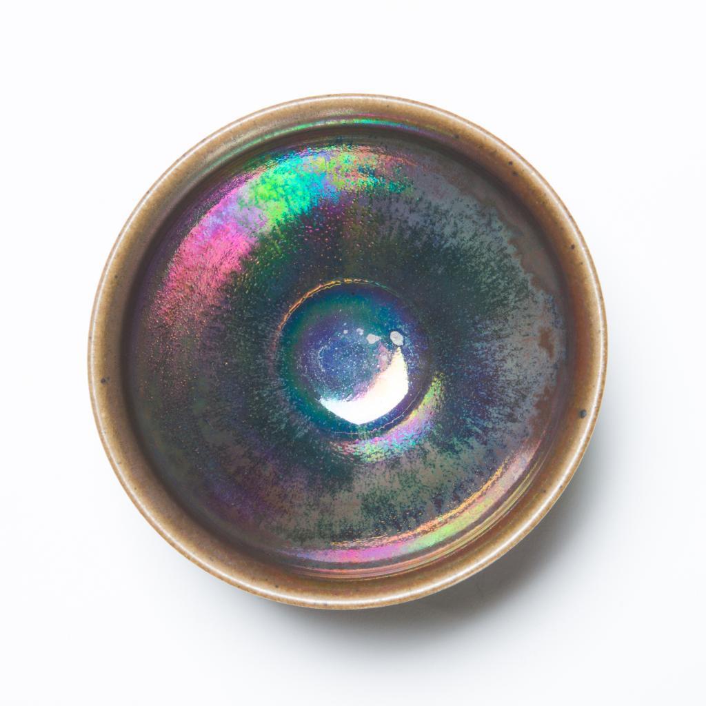 禾目天目茶碗<虹の器>の画像