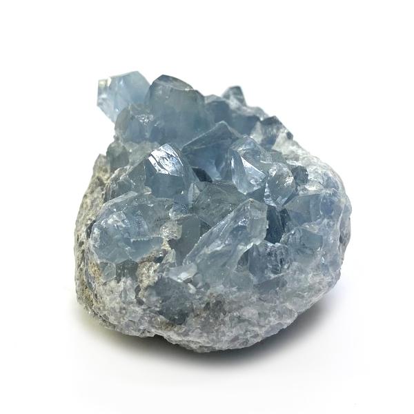 天然石  セレスタイト 天青石 原石 クラスター (234) 鉱物 鉱石 標本 置物 画像