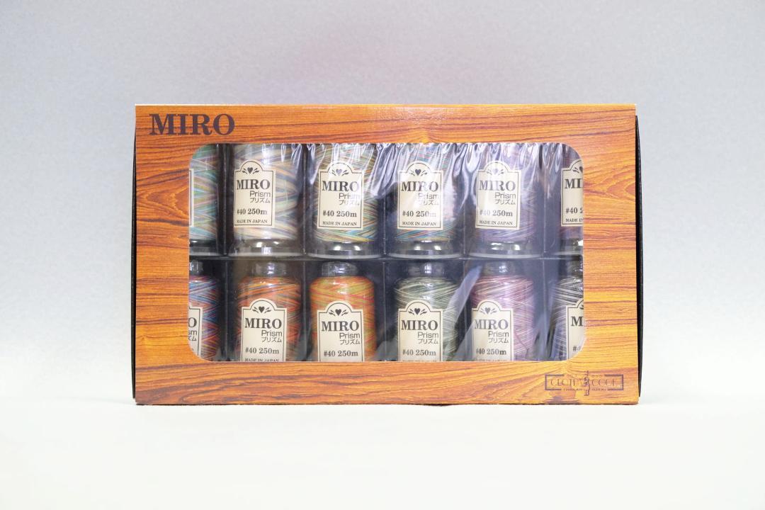 ミロプリズム12色セット画像