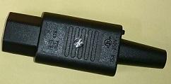 IEC C-15プラグPSE取得品#4781画像