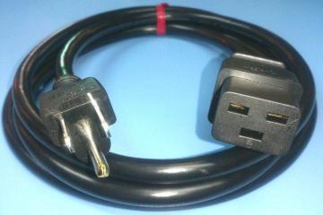 UPS・サーバー用電源コード 5-15:C-19ケーブルの画像