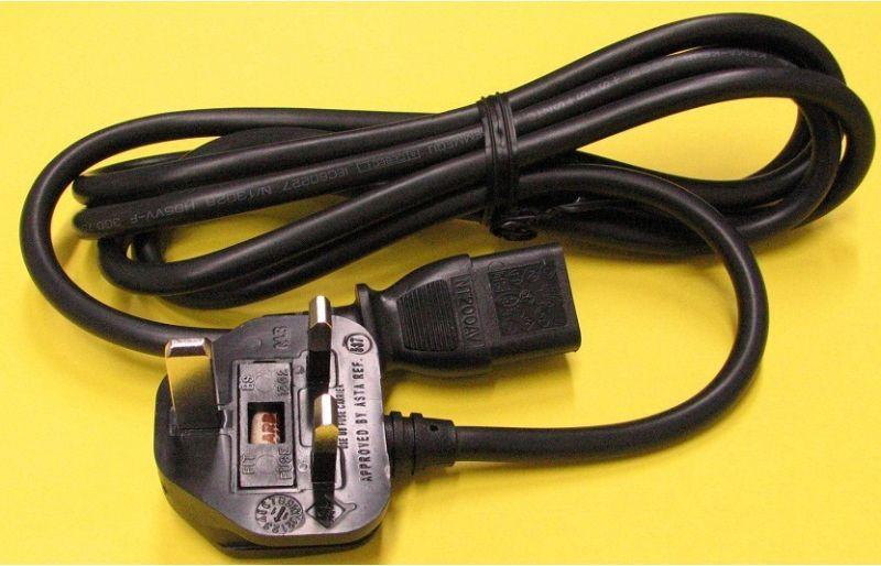 BFプラグ付PC電源コード250V10A画像